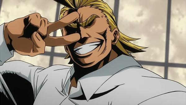 voice actor for all might
